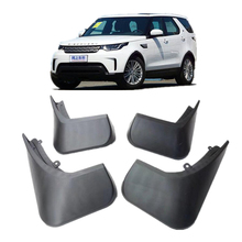 4 unids car styling accesorios del coche guardabarros guardabarros mud flap para range rover land rover discovery 5 2015-2017