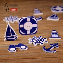 60PCS Rustic Wedding accessories decoration wooden button diy craft scrapbook supply wedding candy box event party supply(China)