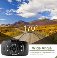 "KKmoon Mini 2.7"" LCD Car DVR Camera GF100 Touch Button 1080P 170 Wide Angle 4X Zoom G-sensor Night Vision"