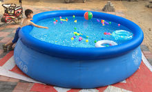 Kingtoy Home Or Garden Big Water Pool Large Inflatable Swimming Pool For Adults bathtub with Pump Repair Size 305x76cm Toy(China)
