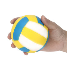9.5*9.5cm Stress Reliever Volleyball Scented squishy oyuncak squishies antistress Rising Collection Squeeze Toy Gift Decor Toys(China)