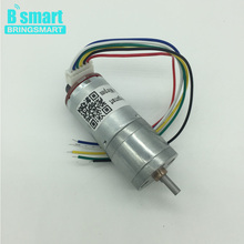 Wholesales JGA25-371 Gear Robot Motor 12v With Encoder Customized Speed High Torque DC Motor Shaft length 10mm For DIY Project