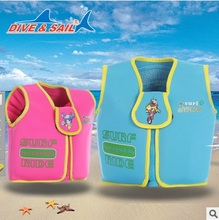 Free Shipping Children Safety Life Jacket Clothes Water Sports Swim Boating Surfing Life Saving Vest Kids Boating Drifting Vest(China)