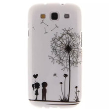 TPU Flower Painted Phone Cases For Coque Samsung Galaxy S3 Neo i9301 GT-I9301 S III I9300 GT-I9300 Duos i9300i i 9300 Phone Case