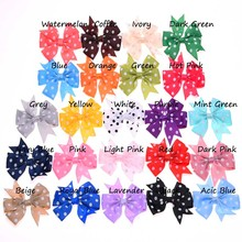 23pcs swallow tail bows  butterfly bow ties  bows WITHOUT  hairclip  barrette for elastic hairband