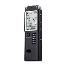 New Arrival T60 2 in 1 Professional 8GB Time Display Recording Digital Dictaphone Digital Voice Recorder/MP3 player