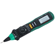 MS8211D Precision Digital Multimeter Pen Type Meter Auto Range LCD Screen DMM Multitester Professional Voltage Current Tester