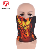 WHEEL UP Winter Thermal Fleece Cycling Face Mask Keep Warm Cold Protection Polar Fleece Motorcycle Scarf Bicycle Balaclavas
