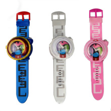 TOUCHMEL New Japanese Anime Yokai Watch DX Yo-Kai Wrist Watch Kids Toy With 3 Medals Cosplay Birthday Gift