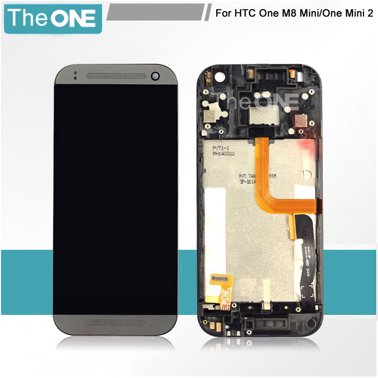 Replacement Parts For HTC One Mini 2 M8 mini LCD Display Touch Screen Digitizer Asembly With Frame Free Shipping<br><br>Aliexpress