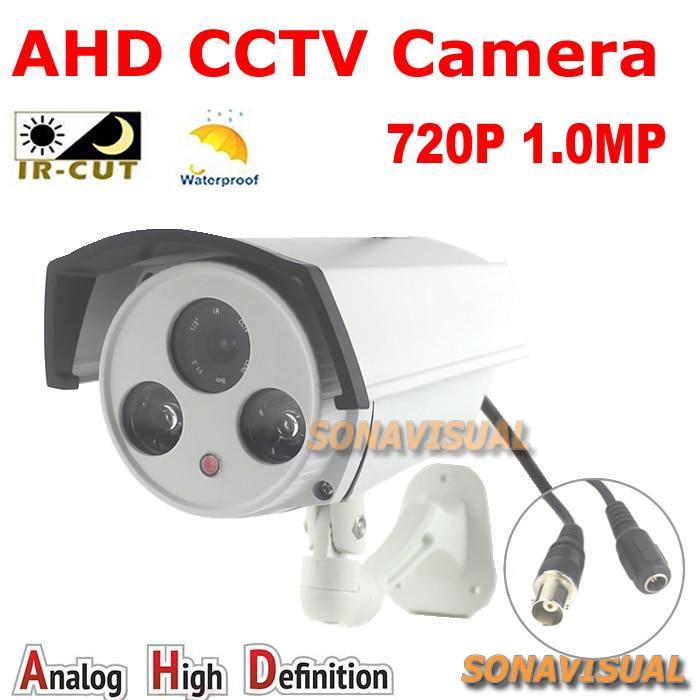 High definition 720P AHD Camera 1/4CMOS sensor 1.0Megapixel outdoor IRcut filter Array Leds waterproof Surveillance Camera<br><br>Aliexpress