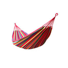 New Arrival Huge Single Cotton Fabric Hammock Air Chair Hanging Swinging Camping Outdoor [NF] FG