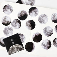 45 Pcs/Box Calendar Diary Planet Sticker Scrapbooking Stationery Office Supplies