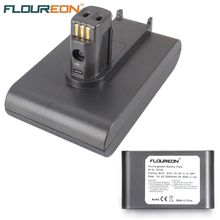 For Dyson 14.4V 2000mAh FLOUREON Li-ion Battery for Dyson DC30 917083-02 Hand Held Vacuum Cleaner Rechargeable Batteria Grey