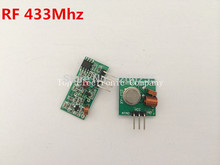 RF wireless receiver module & transmitter module board for arduino super regeneration 315/433MHZ DC5V (ASK /OOK) 1pair =2pcs