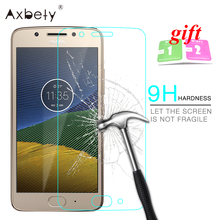 9H 2.5D Hardness Tempered Glass For Motorola Moto G5 Screen Protector Glass  For Moto G 5 G5 Plus Screen Explosion Proof Film