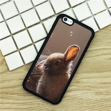 Soft TPU Phone Cases For iPhone 6 6S 7 Plus 5 5S 5C SE 4 4S ipod touch 4 5 6 Cover Shell Cute Bunny Soap Bubbles Printed(China)