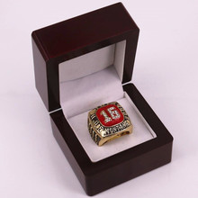 Factory price US size 11 Hall of Fame 2000 JOE MONTANA number 16 championship rings replica drop shipping(China)