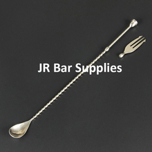 Stainless Steel Multi Functional Interchangeable Bar Spoons Mixed Tail Drink Stirrer Bar Tool