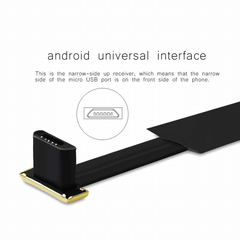 Ascromy Android Universal Qi Standard Wireless Charging Receiver Micro USB Wireless Charger Receiving Patch For MicroUSB Phones (3)