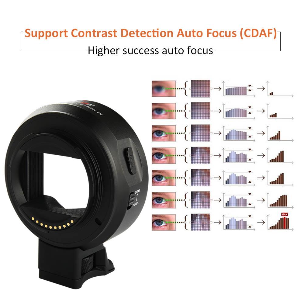 Viltrox EF-NEX IV Automatic focus Lens Adapter (39)