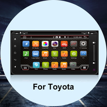 Car DVD For TOYOTA Android 4.4 Car DVD 2 din Car PC WI-FI GPS Navigation IN-DASH For toyota/RAV4/Corolla/Avensis/Hilux/Camry