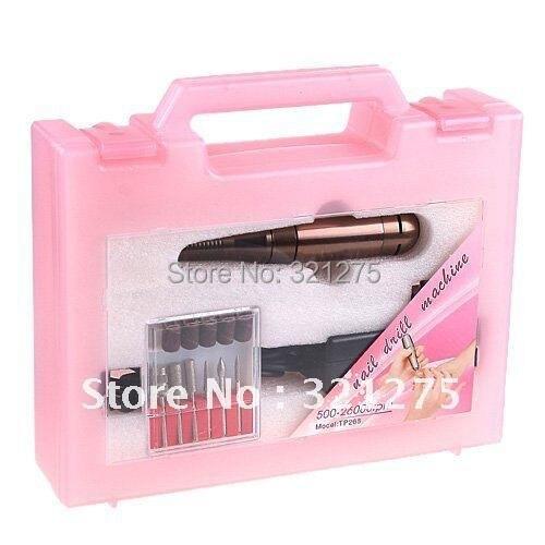 268 Nail Glazing Electric File Machine &amp; nail drill &amp;Electric Nail Art File Drill Manicure machine<br>