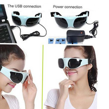 USB DC Eye massage Health Eye Care Electric Vibration Release Alleviate Fatigue Eye Massager Relaxation 3 types of power supply