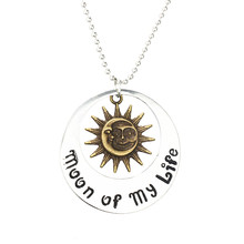 Ocean Movie film Jewelry THE Game Of Thrones Moon Of My Life My Sun And Stars Necklace Song Of Ice And Fire Necklace Unisex