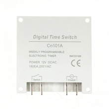 Buy AYHF-New LCD Digital Control Power Programmable Timer DC 12V 16A Time Relay Switch for $5.80 in AliExpress store