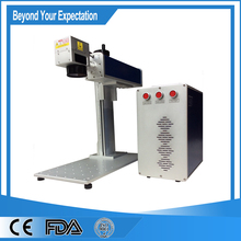 China end-pumped laser marking on promotional materials printing Machine(China)