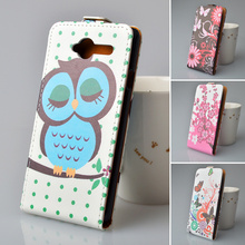For ZTE Blade L3 Cell Phone case Retail Painting Cartoon photos phone back cover case high quality PU Leather Filp In Stock