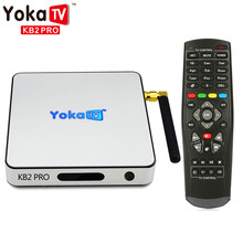 YOKATV YOKA KB2 PRO Smart Set Top TV Box Android 6.0 Octa Core TV Box Amlogic S912 Support KODI 17.0 Bluetooth 4.0 Media Player