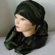 Shemagh palestine Islamic Military Scarves mesh breathable Bandana Multifunction Tactical Arabic Keffiyeh head Scarf Wrap
