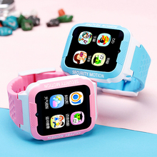 Espanson Children Smart Watch With Camera Facebook SOS Call Emergency Security Anti Lost Monitor Bluetooth waterproof baby Watch(China)