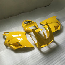 Injection mold Fairing KIT for DUCATI 748 916 996 998 96 97 98 99 00 01 02 1996 2002 ducati Yellow Fairings set+7gifts DG01(China)