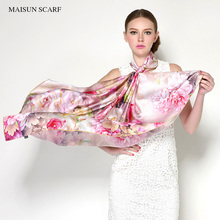 110x110cm Big Size Pure Silk Square Scarves Brand Square Shawl For Women High Quality Latest Design New Style Women Silk Hijab