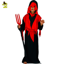 Buy New Carnival Costume Halloween Devil Children Costume Garment Suits Devil Kids Boys Cosplay Costumes Ghost Party Dress for $20.17 in AliExpress store