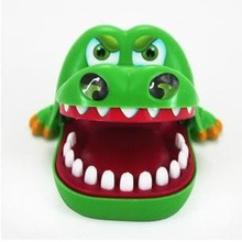 Fun Toys Crocodile Dentist Bit Finger Parent-child Funny Game Creative Animals Teeth Toys For Kids Gift Practical Jokes Gags(China)