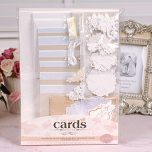 DIY Vintage Card Kit For Beginner,Kids Gift.Idea for birthday,wedding -12 Cards n Envelopes