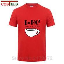 36d538e77c646 Engraçado Camisetas Sobrenatural dos homens Algodão de Manga Curta O  Pescoço Da Ciência Física E