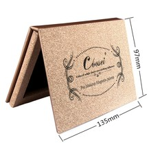 New Brand DIY Small Rose Golden Z Paleta De Maquiagem Bronzer Powder Blush Blusher Eye Magnetic Shadow Makeup Mini Palette Naked