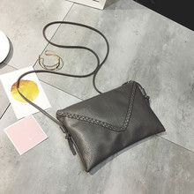 2017 New trend Girls Fashion Bag Women Handbags Leather Shoulder Envelope Bag Woven Messenger Bag Tote Purse bolsas mujer female