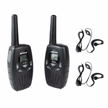 2pcs Walkie Talkie Kids Radio RETEVIS RT628 0.5W UHF 446MHz EU Frequency Portable Hf Transceiver Ham Radio+2pcs earpiece A1026B
