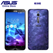 Hot Asus ZenFone 2 ZE551ML Deluxe 4GB RAM 64GB ROM Smartphone 5.5 Inch Intel Quad Core FDD LTE 13MP 2.3GHz Z3580 Mobile Phone(China)