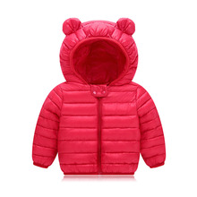 Infant Girls Coat 2018 Autumn Winter Jacket For Baby Boys Girls Jacket Kids Warm Outerwear Coat For Baby Jacket Newborn Clothes(China)