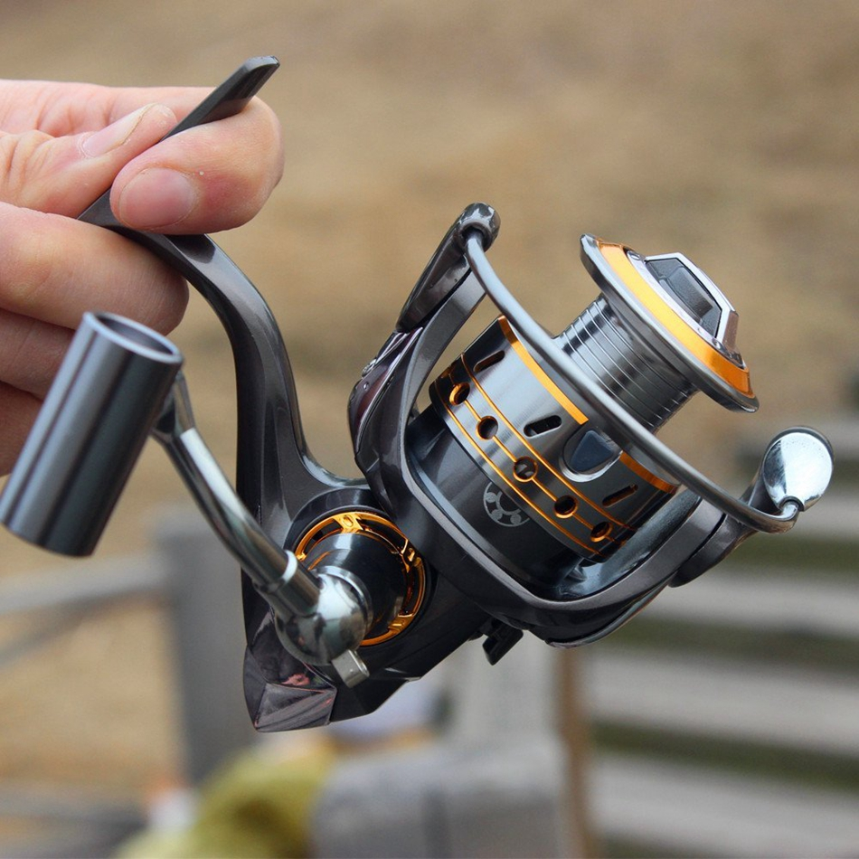 Top Quality Metal Spinning Fishing Reel 12+1BB Trolling Reel Pesca Carrete Spinnning Reel Feeder Carp Fishing Wheel<br><br>Aliexpress