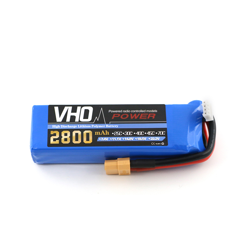 VHO Power 3S 11.1v 2800MAH Lipo Battery For Cheerson CX-20 cx20  remote control aircraft 11.1 v 2800 MAH 30c toy Batteries <br>