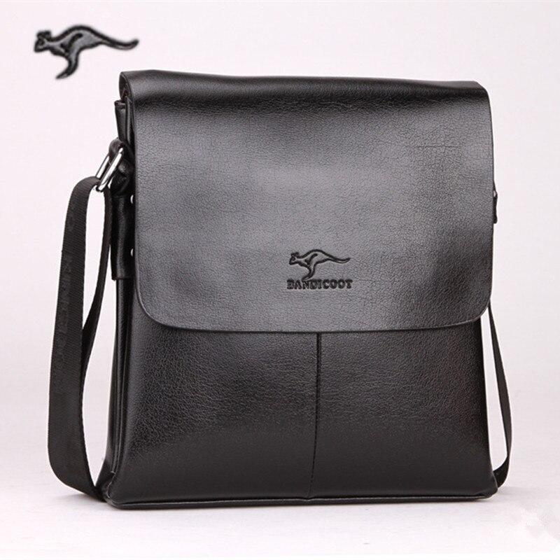 2016 New Arrival Kangaroo mens messenger bag Brand shoulder bag fashion crossbody bag Handbags for male Free Shipping<br><br>Aliexpress