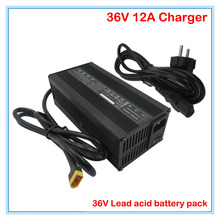 600W 36V 12A lead-acid charger 36V scrubber charger sweeper charger wheelchair charger XT60 Port DHL Free shipping(China)